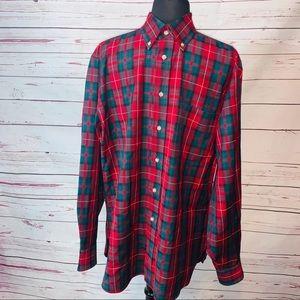 SIR PENDLETON Medium  Shirt Flannel Casual Plaid.